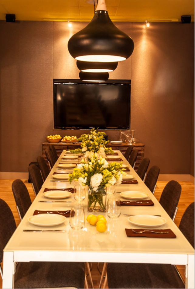 Limone Private Dining Room